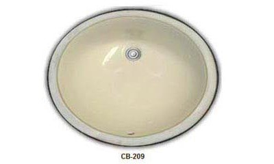Ceramic Undermount Bathroom Sinks