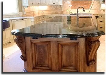Granite Countertop in Kitchen in Charlotte NC
